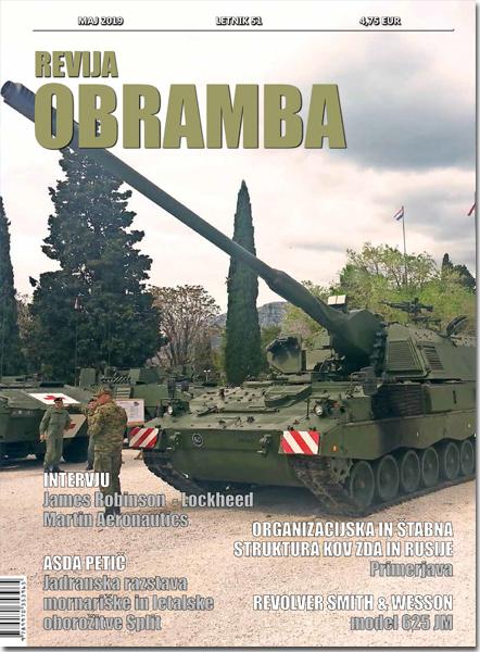 Revija OBRAMBA, maj 2019