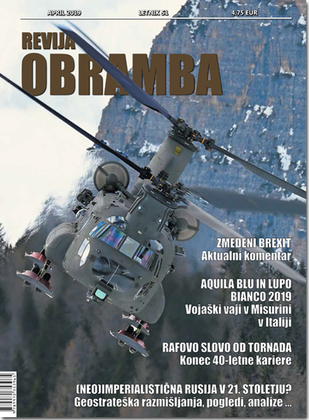 Revija Obramba, april 2019