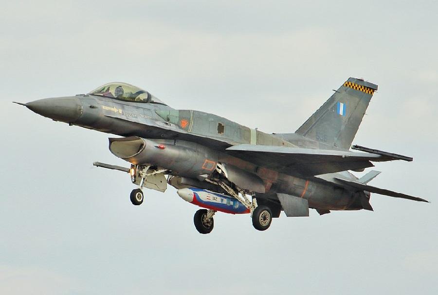 Grški lovec F-16V