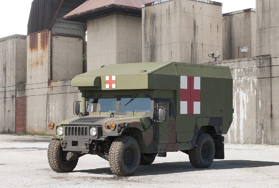 Sanitetno vozilo humvee 997A3
