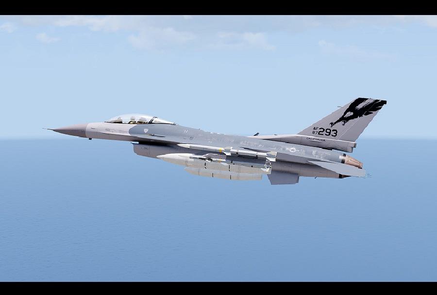 F-16 Nacionalne garda ZDA