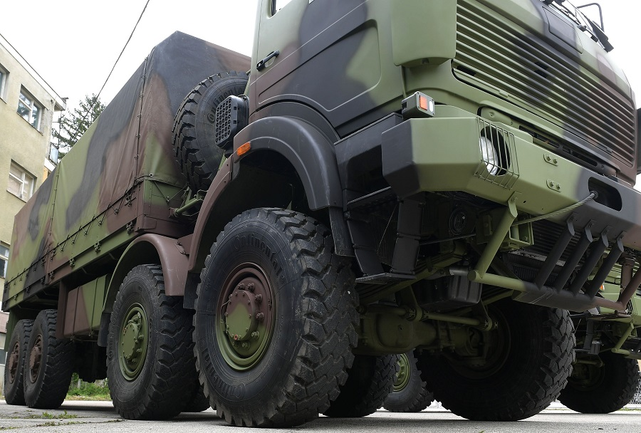 Vojska Srbije - tovornjak FAP 3240 8x8
