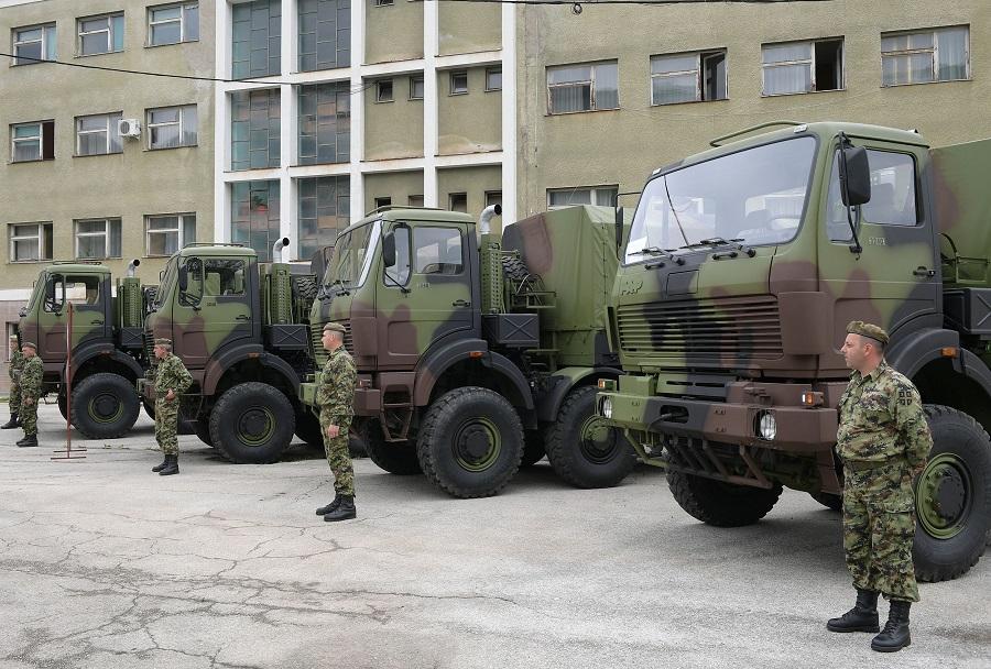 Vojska Srbije - tovornjaki FAP 3240 8x8