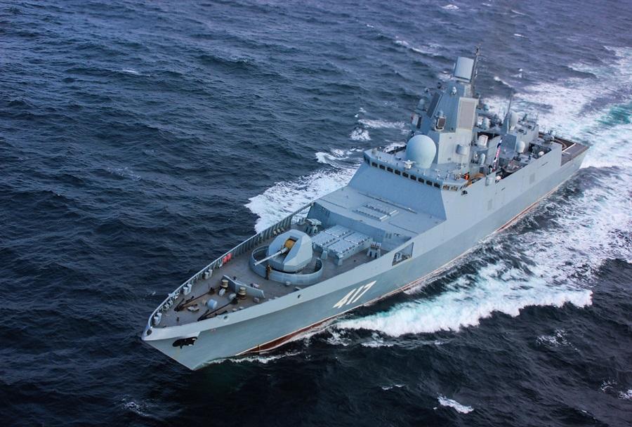 Ruska fregata projekt 22350 Admiral Gorshkov