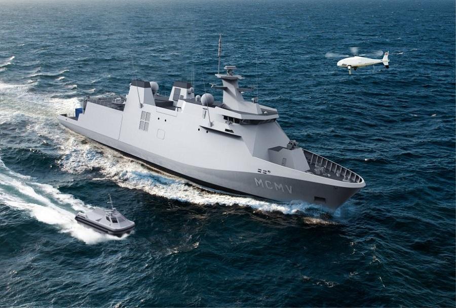 Koncept minolovca Naval&Robotics MCM
