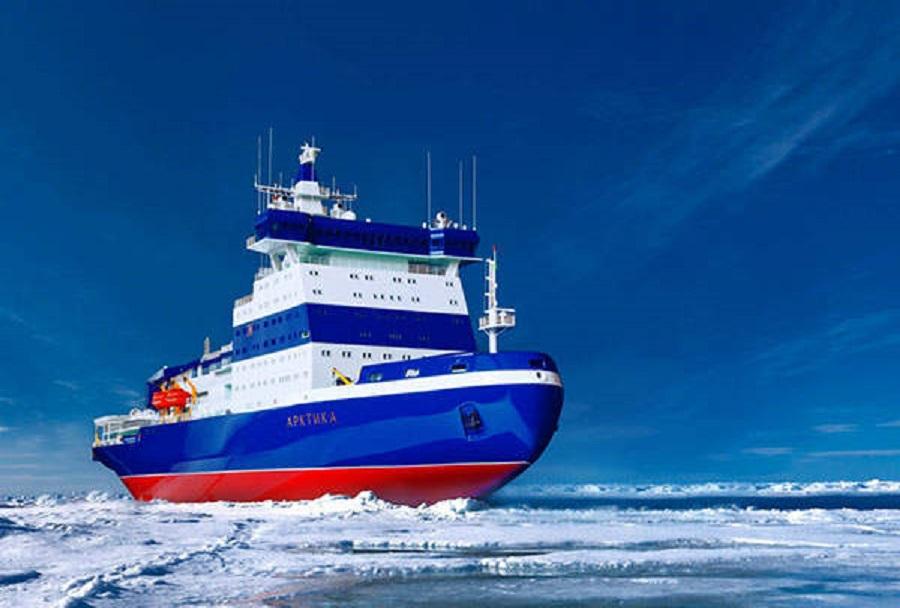 Ruski jedrski ledolomilec LK-60 (projekt 22220) - koncept