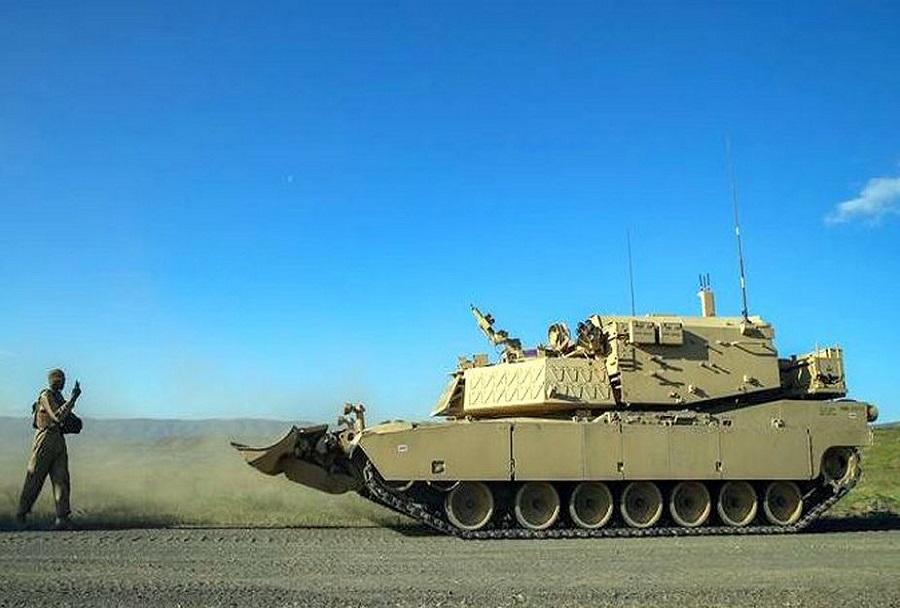 Testiranje robotskega tanka M1A2 abrams