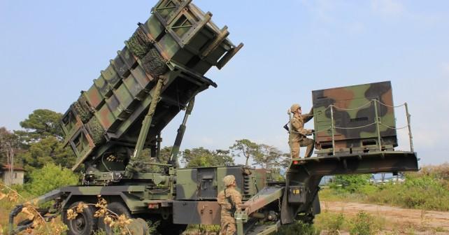 Ameriški raketni sistem protiletalske in protibalistične obrambe dolgega dosega patriot (foto: Tonja Ana Hrvatin – SV)