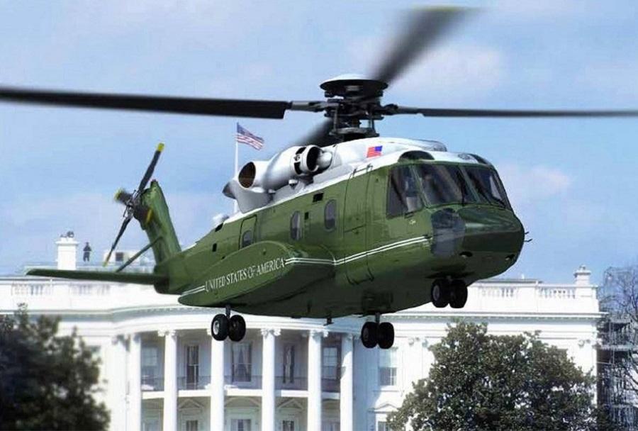 Predsedniški helikopter Sikorsky S-92A Marine One