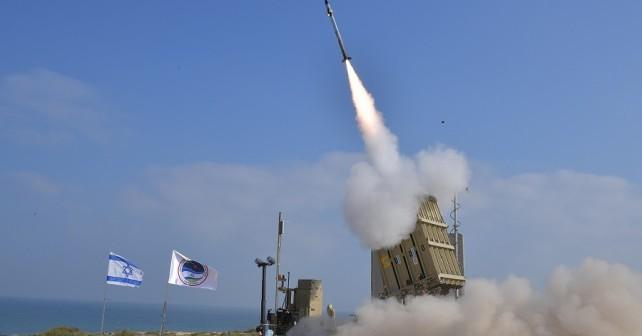 Izraelski raketni sistem iron dome