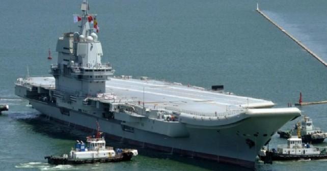 Kitajska letalonosilka type 001A