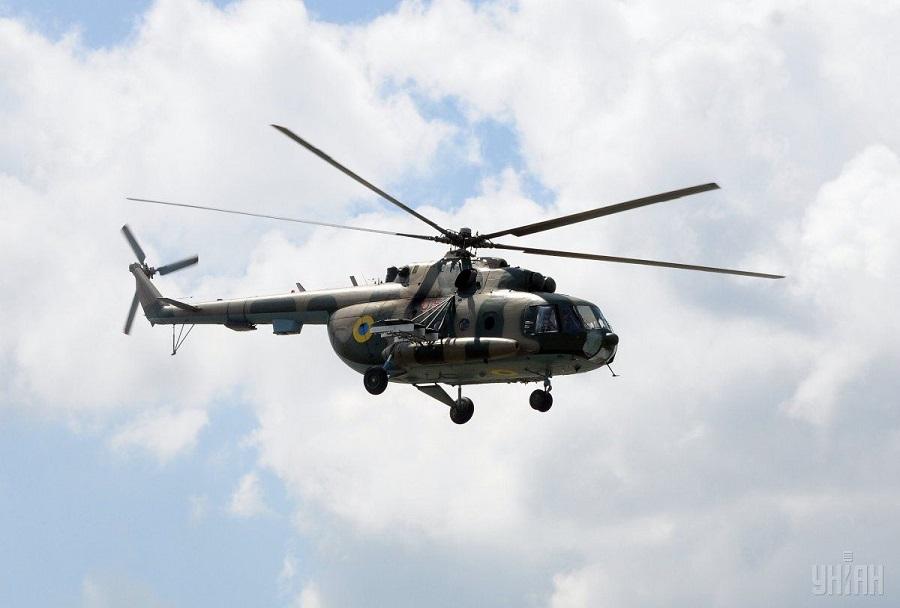 Ukrajinski helikopter Mi-8