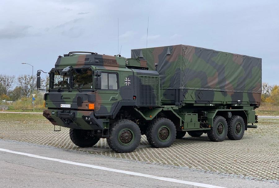 Vojaški tovornjak - Nemška vojska