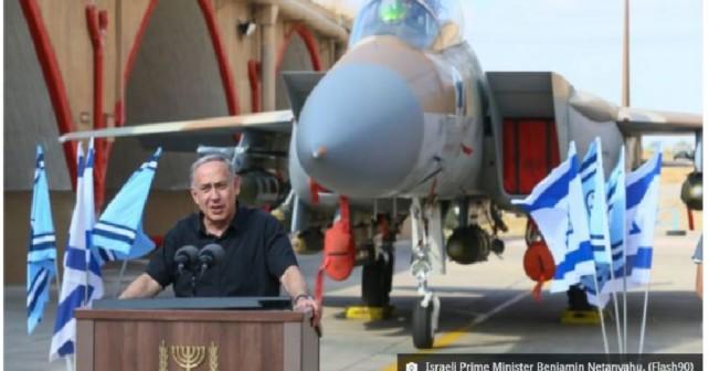 Netanyahu pred lovcem F-15