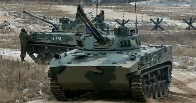 Rusko desantno bojno vozilo BMD-4M