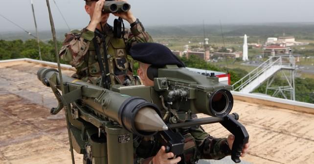 Francoski prenosni raketni sistem mistral