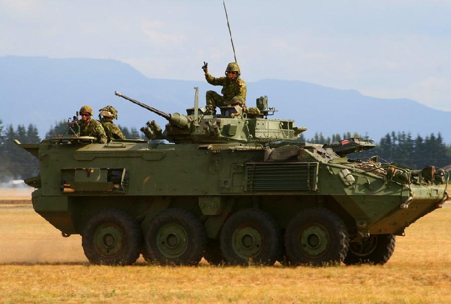 oklepno vozilo LAV-III