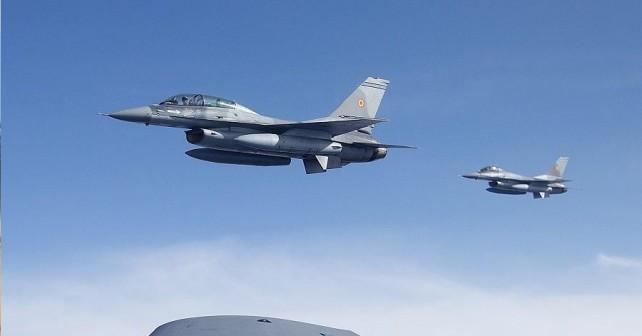 Romunska lovca F-16