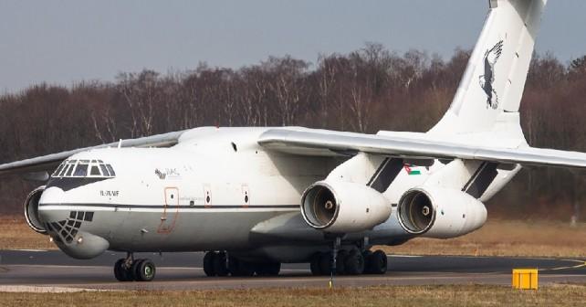 jordansko letalo Il-76MD