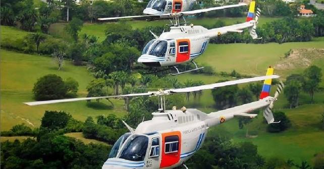 Kolumbijski helikopterji Bell 206 oz. TH-67 creek
