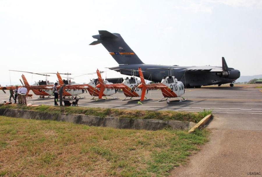 """Bovi"" kolumbijski helikopterji Bell 206 oz. TH-67 creek"