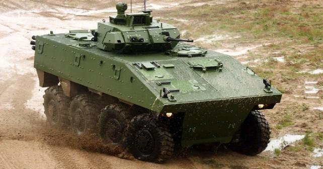 oklepno vozilo Nexter VBCI-8x8