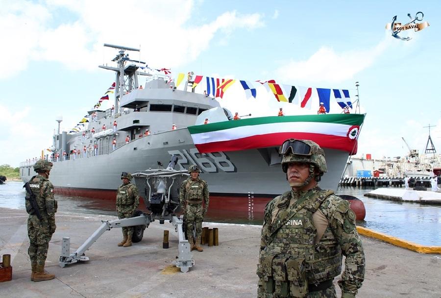 Mehiška patruljna ladja Tabasco P-168 razreda oaxaca