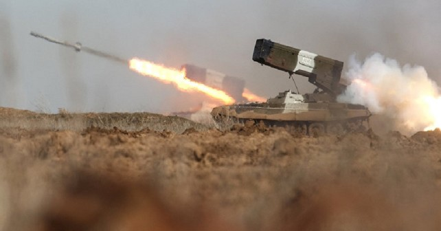 ruski raketomet TOS-1A