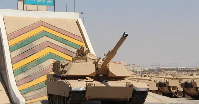 tank M1A1 abrams - testiranje v Egiptu