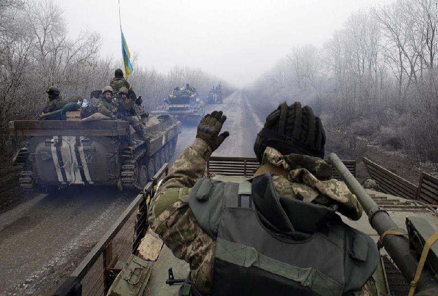 Ukrajinska vojska - spopadi v Donbasu