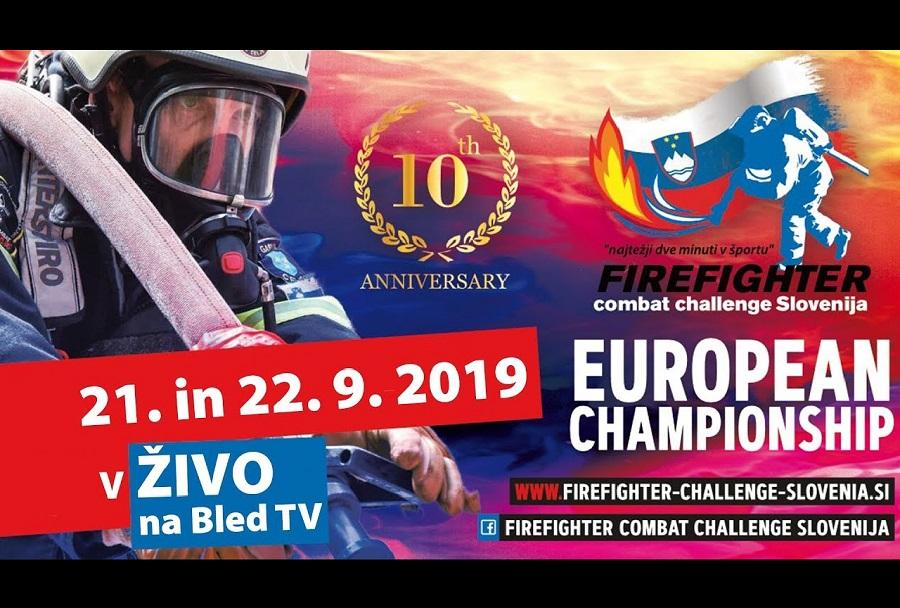 Firefighter Combat Challenge Slovenija - Bled 2019