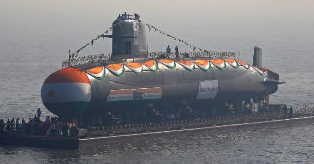 indijska podmornica razreda scorpene