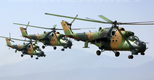 makedonski helikopterji Mi-24