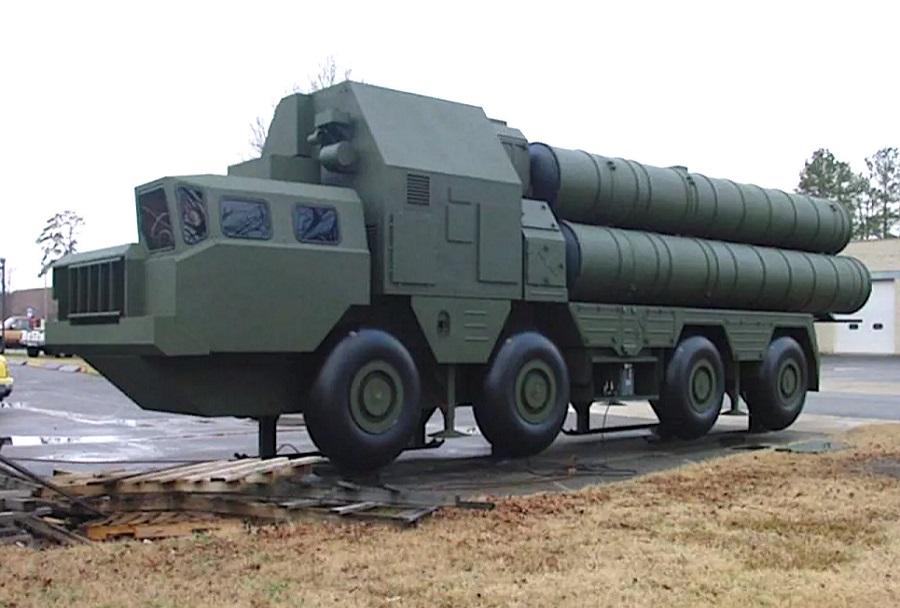 maketa raketnega sistema S-300