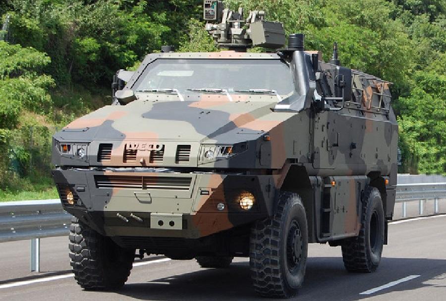 taktično oklepno vozilo Iveco MTV 4x4