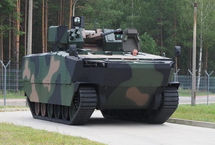 Poljsko pehotno bojno vozilo borsuk