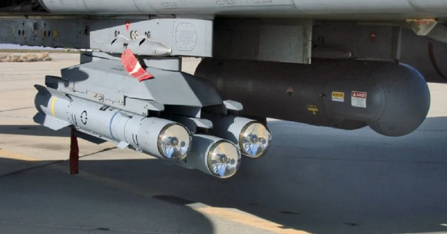 rakete MBDA brimstone