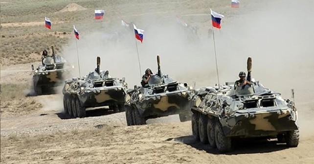 Ruska vojska - vojaška vaja