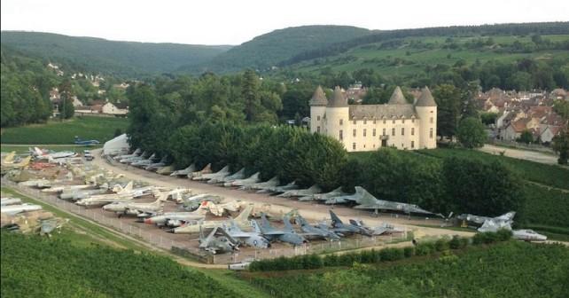 Zasebna zbirka lovskih letal v Franciji