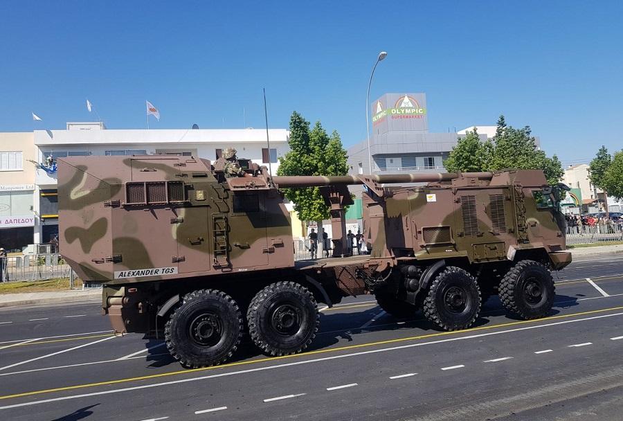 Parada Ciper - samovnozni sistem nora-52 - Aleksander TGS (1)