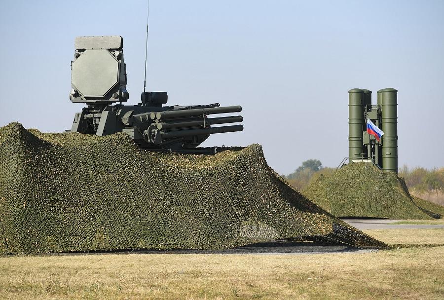 Slovanski ščit - pancir-S in S-400