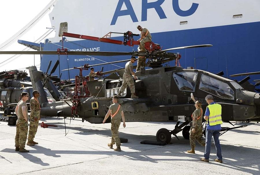 helikopterji AH-64 apache v Grčiji