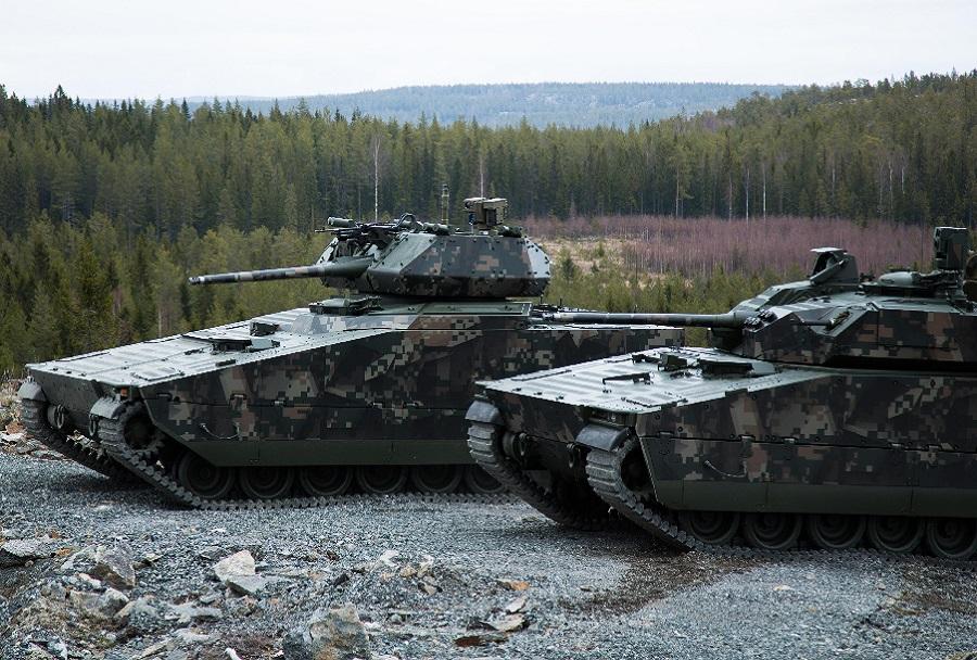 oklepno bojno vozilo CV90