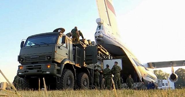 Ruski sistem zračne obrambe pancir-S1 v Srbiji