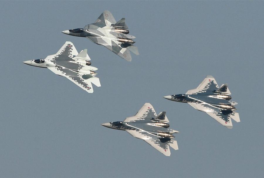 lovci Suhoj Su-57