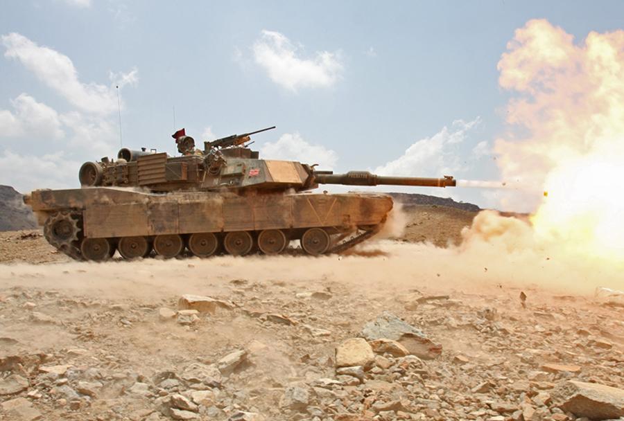 MBT - ameriški tank M1A1 abrams