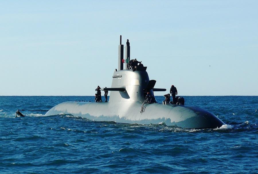 Italijanska podmornica Scire (S527) razreda todaro/type 212A