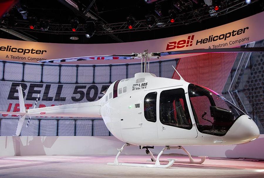 Helikopter Bell 505 jet ranger X