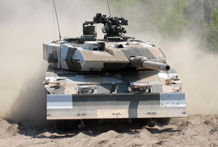 Glavni bojni tank leopard 2A7+