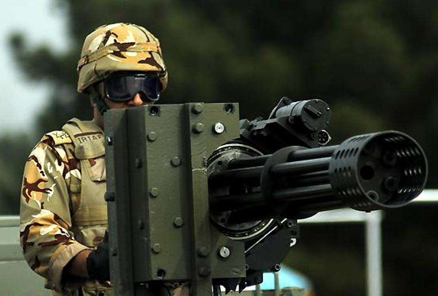 Iranski šestcevni mitraljez moharram